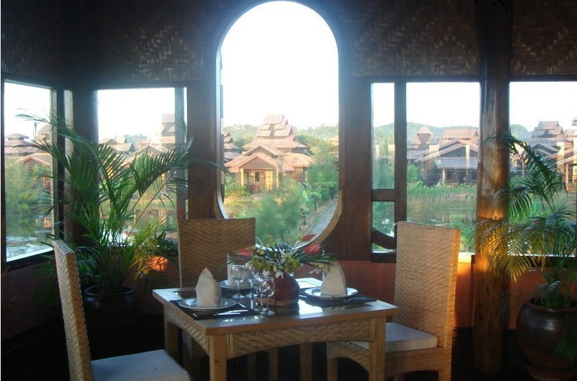 Mrauk U Princess Resort, Birmanie, restaurant