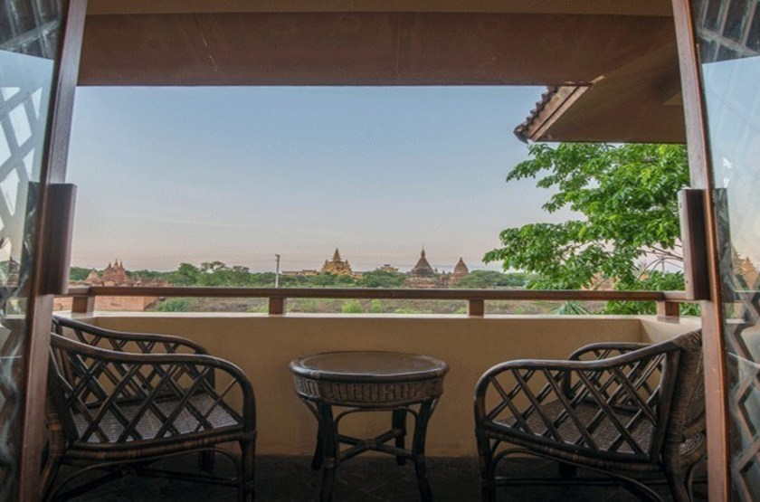 Vue sur bagan slideshow