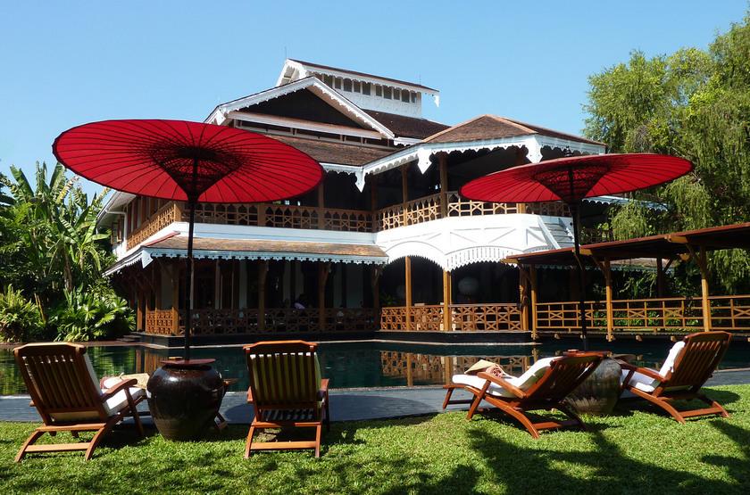 Belmond Governor's Residence, Yangon, Birmanie, jardins