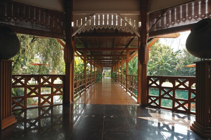 Belmond Governor's Residence, Yangon, Birmanie, entrée