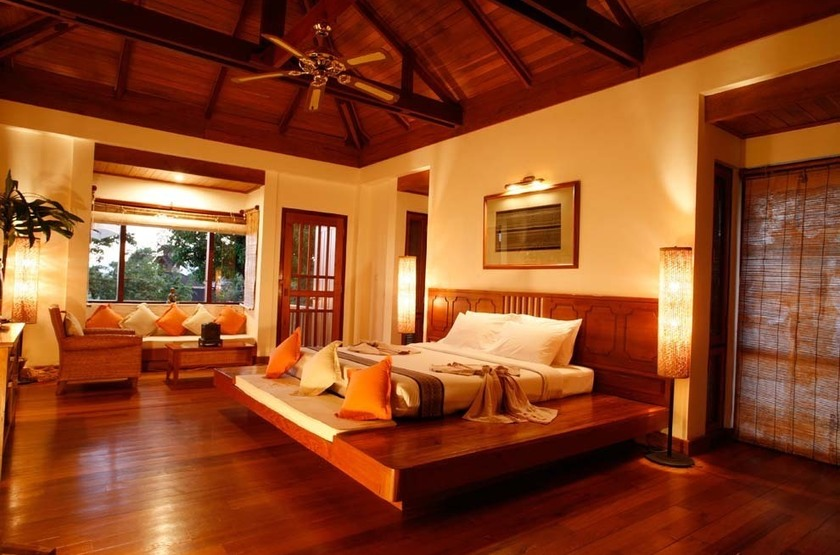 Lake View Resort, Lac Inle, Birmanie, chambre