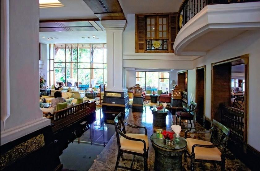 Kandawgyi Palace Yangon, Birmanie, lobby