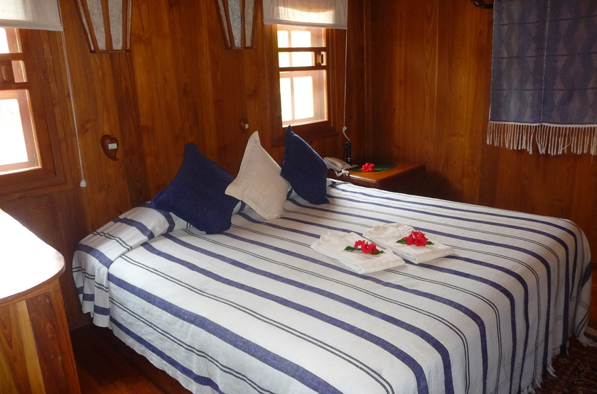 Pindaya Inle Inn, Lac Inle, Birmanie, chambre