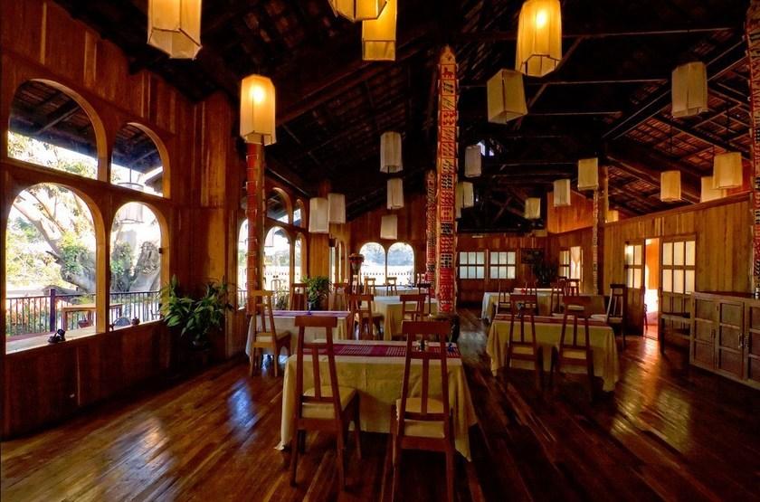 Pindaya Inle Inn, Lac Inle, Birmanie, restaurant