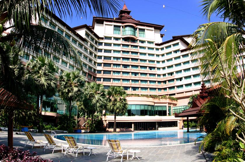 Sedona Hotel, Mandalay, Birmanie, extérieur