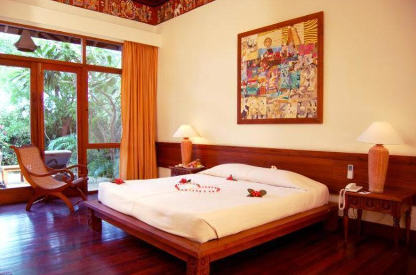 The Hotel & Tharabar Gate, Bagan, Birmanie, chambre