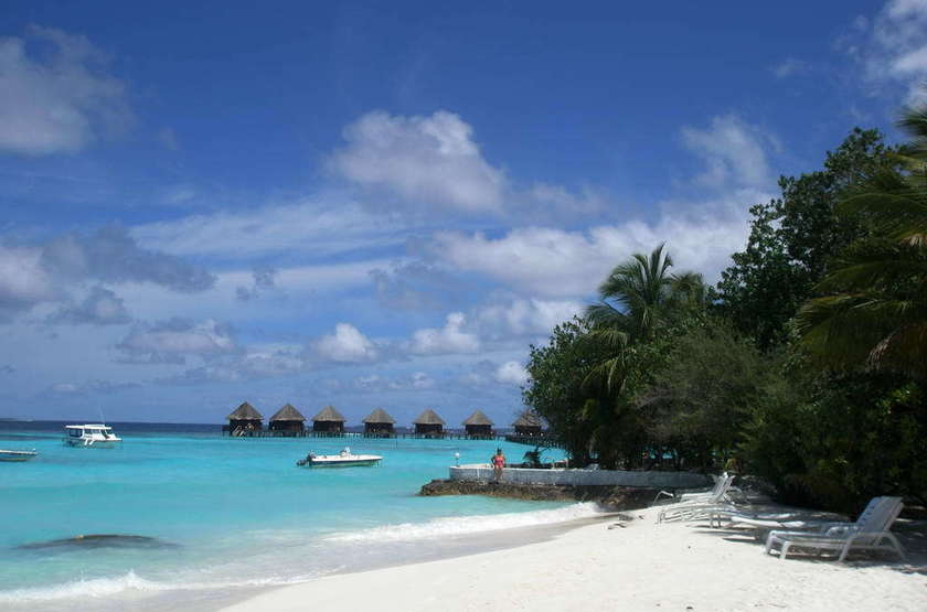 Thulhagiri Island Resort & Spa, Maldives, plage
