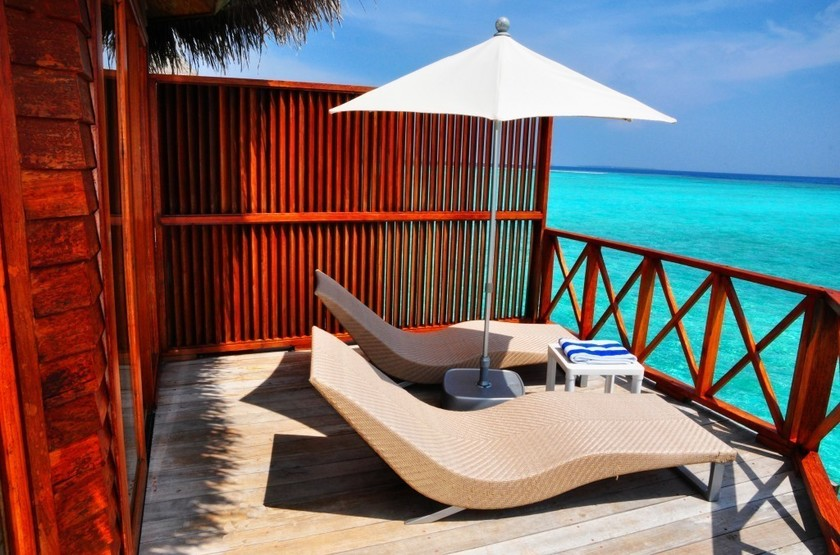 Thulhagiri Island Resort & Spa, Maldives, terrasse