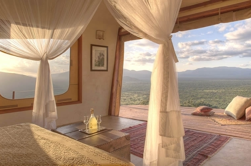 Saruni Samburu Camp, Samburu Kalama, Kenya, tente