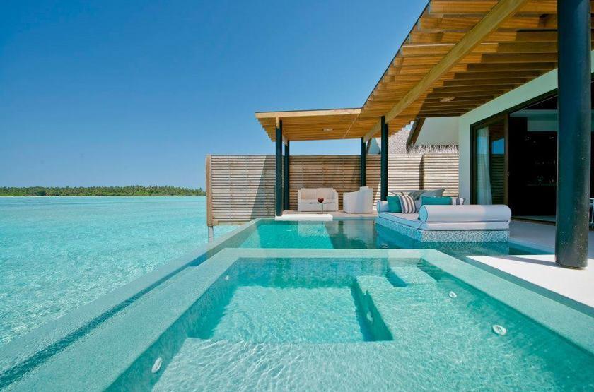 Niyama - Olhuveli et d'Embedhufushi, Maldives, piscine