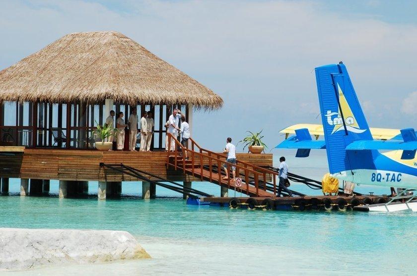 Niyama - Olhuveli et d'Embedhufushi, Maldives, hydravion