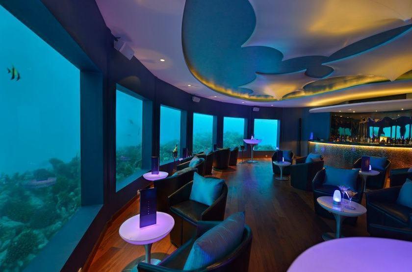 Niyama - Olhuveli et d'Embedhufushi, Maldives, bar-discothèque