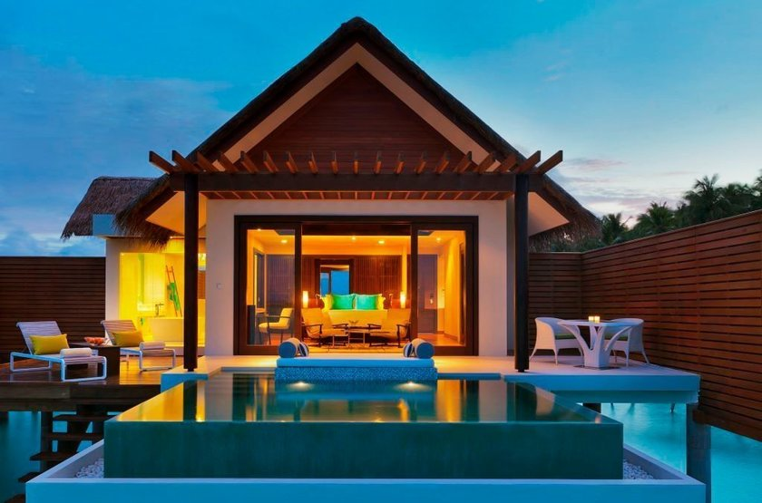 Niyama - Olhuveli et d'Embedhufushi, Maldives, pavillon avec piscine