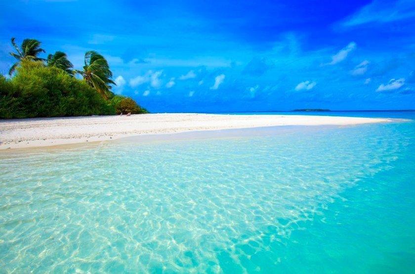 Niyama - Olhuveli et d'Embedhufushi, Maldives, plage