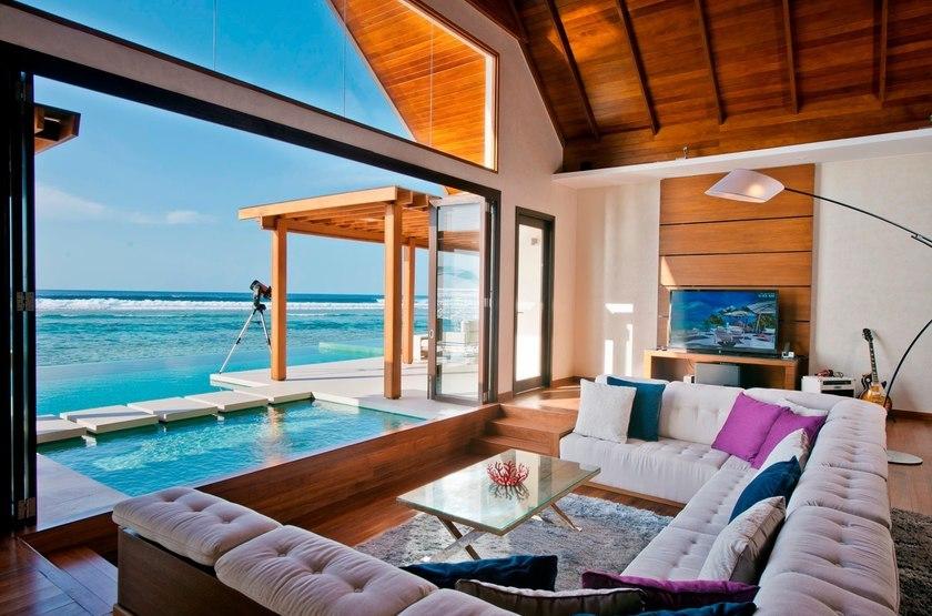 Niyama - Olhuveli et d'Embedhufushi, Maldives, salon