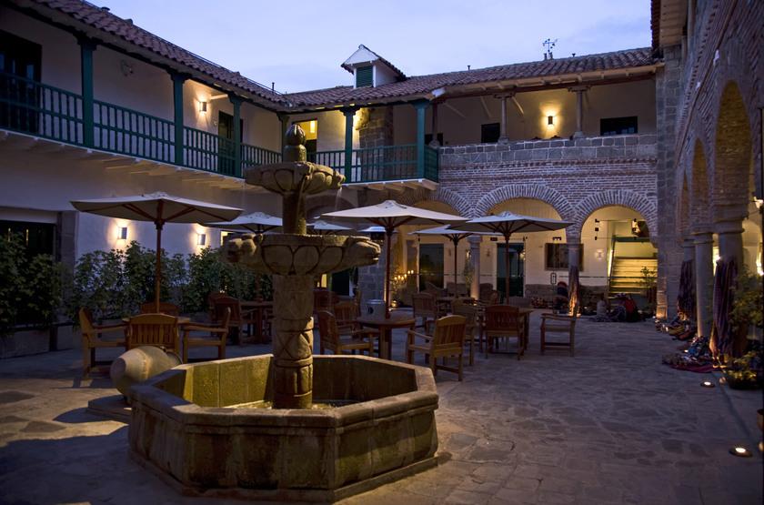 Casa Andina Premium, Cusco, Pérou, cours intérieure