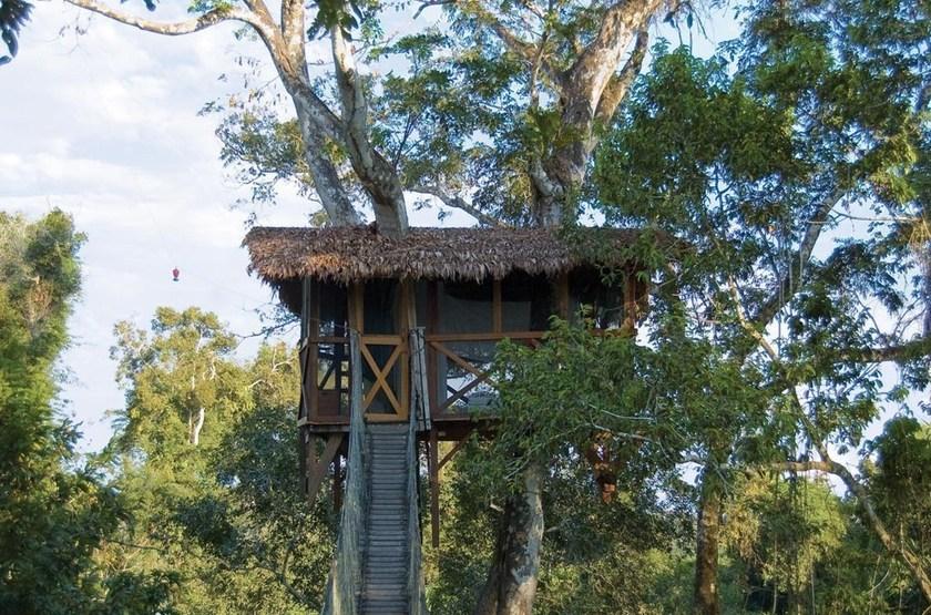 Inkaterra Reserva Amazonica, Pérou, cabane
