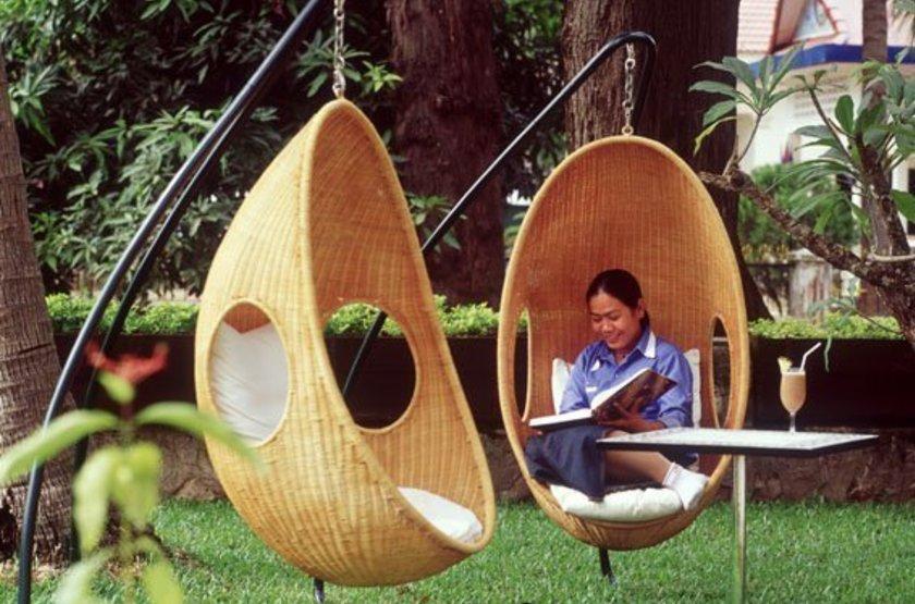 FCC HOTEL, Siem Reap, Cambodge, jardin