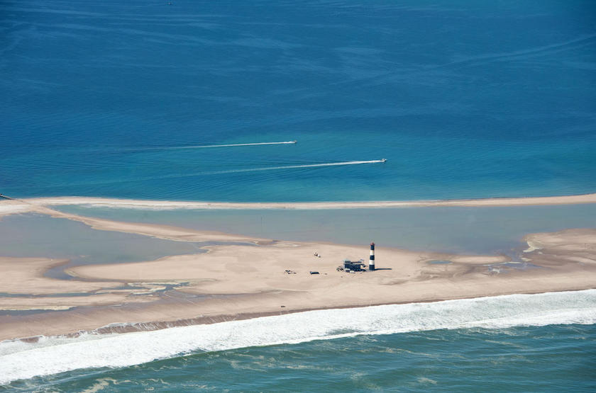 Pelican Point Lodge, Walvis Bay, Namibie, emplacement