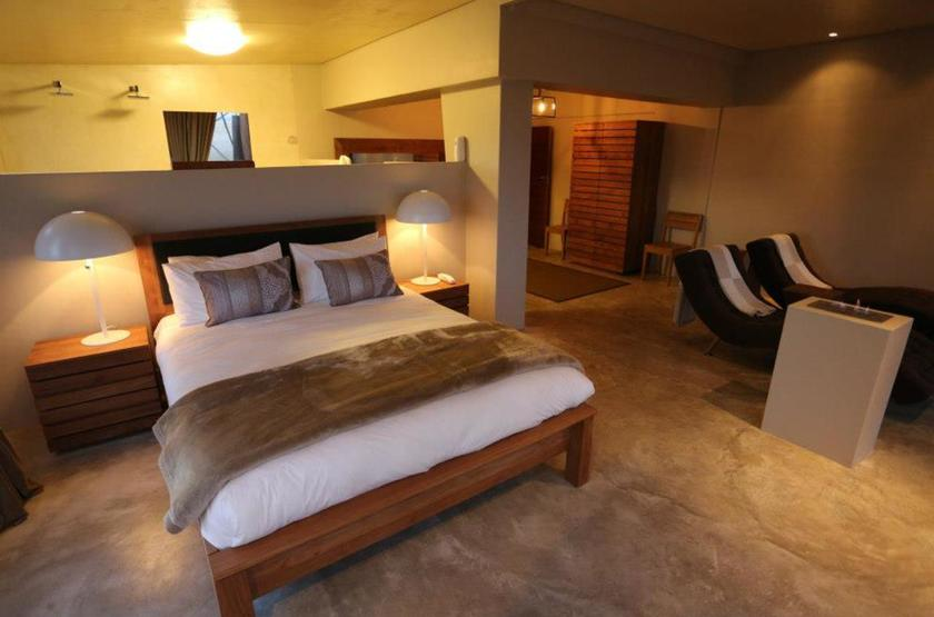 Pelican Point Lodge, Walvis Bay, Namibie, chambre