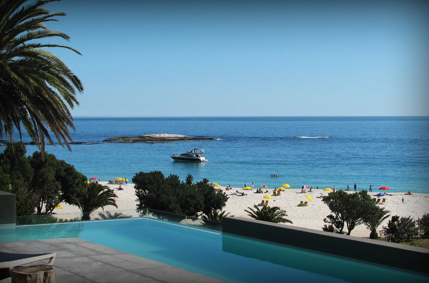 Pod Camp Bay, Cape Town, Afrique du Sud, piscine
