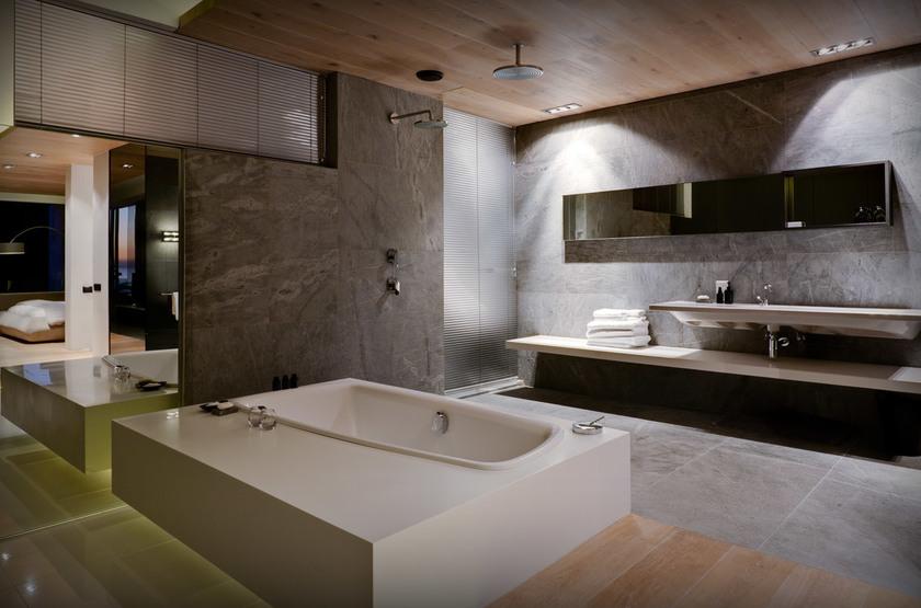 Pod Camp Bay, Cape Town, Afrique du Sud, salle de bains