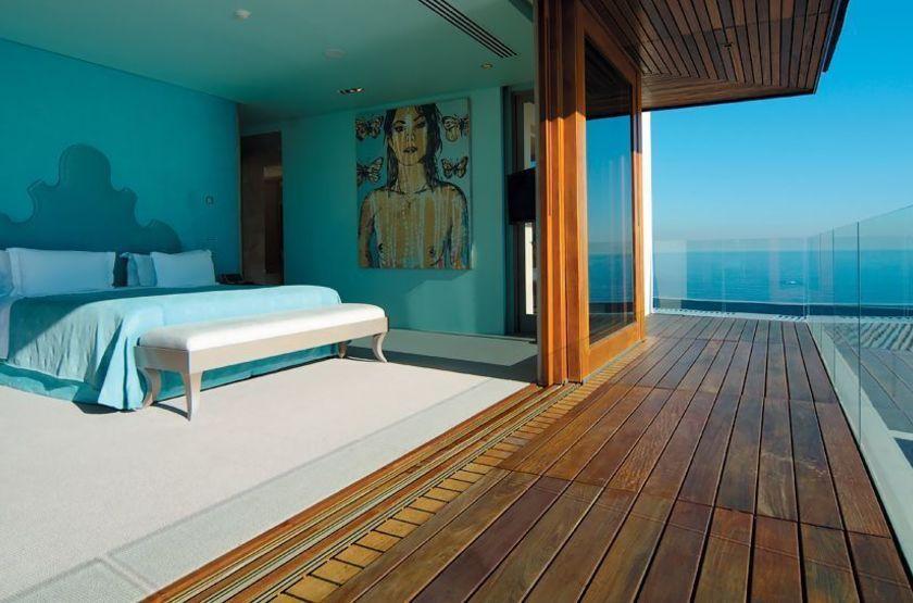 Ellerman House Villas, Cape Town, Afrique du Sud, chambre vue océan