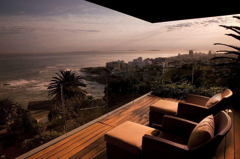 Ellerman House Villas, Cape Town, Afrique du Sud, vue océan