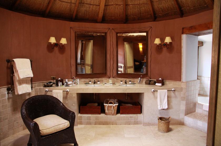 Awasi Lodge Atacama, Chili, salle de bains