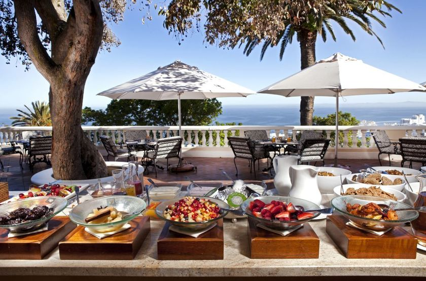 Ellerman House, Cape Town, Afrique du Sud, brunch