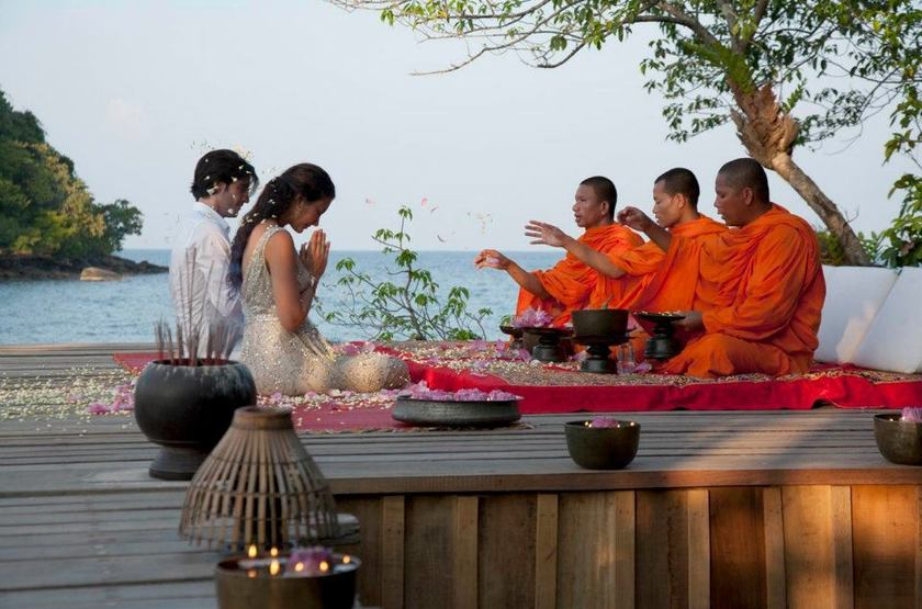 Song Saa Private Island, Cambodge, mariage