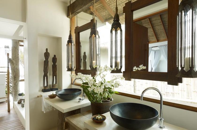 Song Saa Private Island, Cambodge, salle de bains