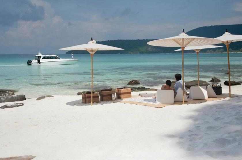 Song Saa Private Island, Cambodge, plage