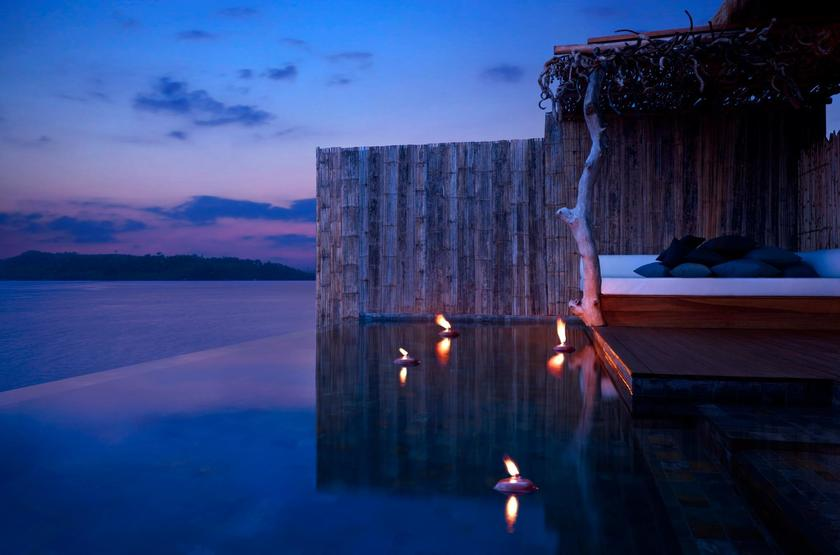 Song Saa Private Island, Cambodge, by night