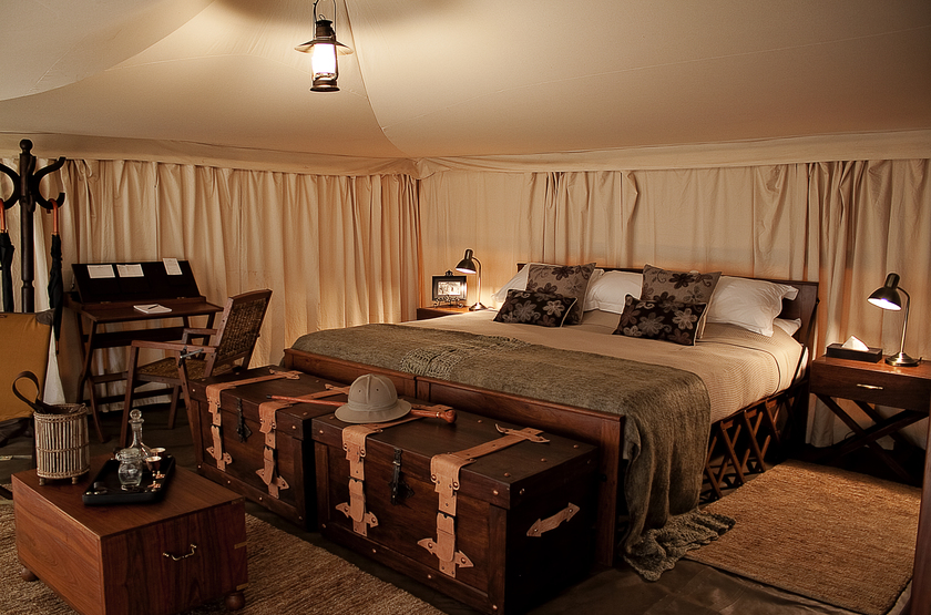 Pioneer Camp Serengeti, Tanzanie, intérieur tente