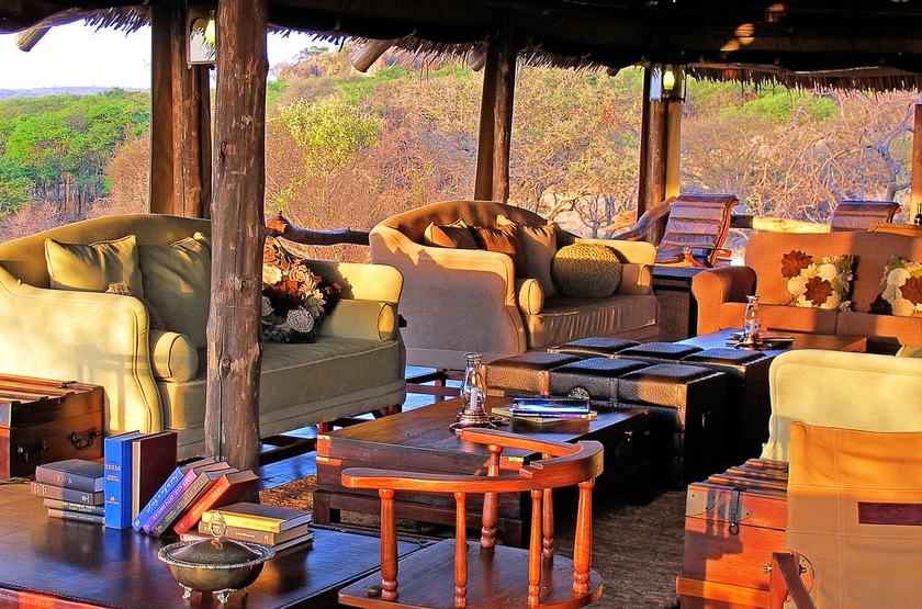 Pioneer Camp Serengeti, Tanzanie, lounge