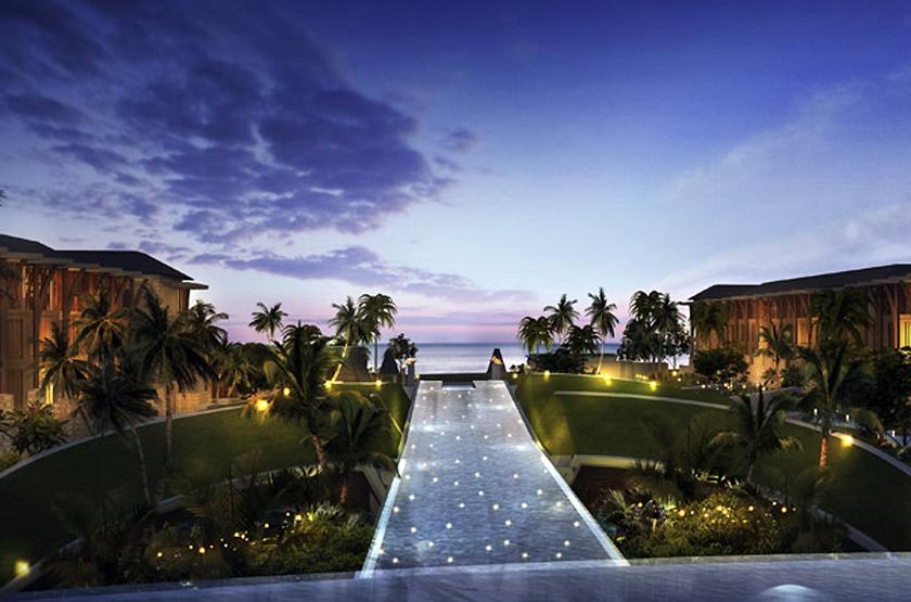 Sofitel Nusa Dua Beach Resort, Bali, Indonésie, piscine vue mer