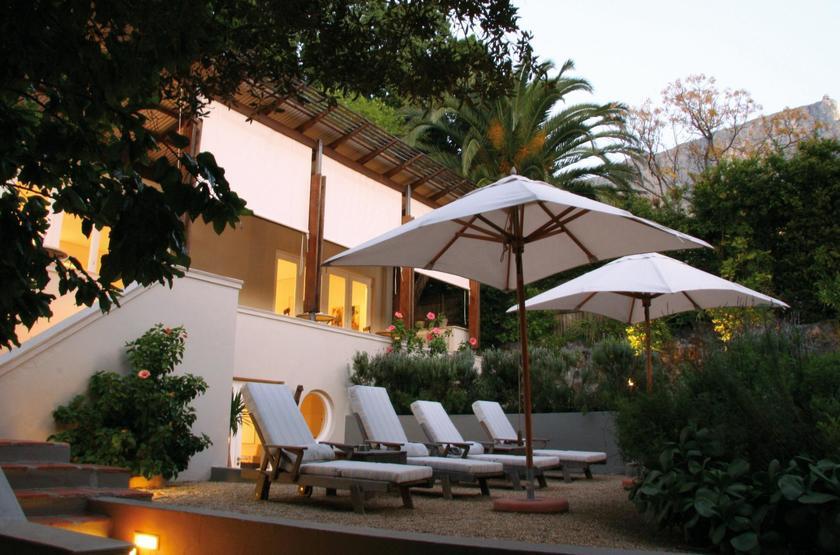 Four Rosmead, Cape Town, Afrique du Sud, terrasse jardin
