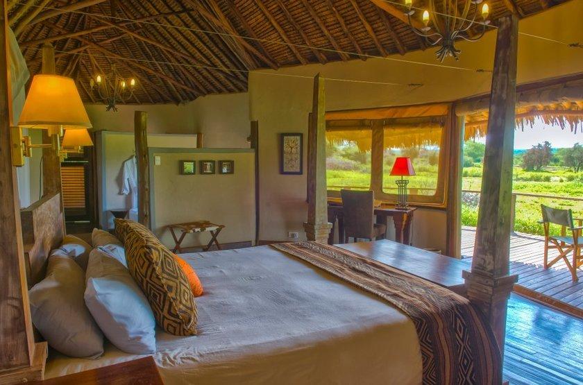 Tawi Lodge, Amboseli, Kenya, tente