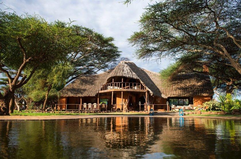 Tawi Lodge, Amboseli, Kenya, extérieur