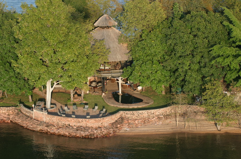 Musango Safari Camp, Matusadona, Zimbabwe, emplacement