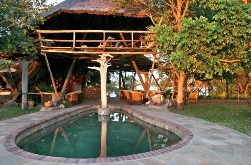 Musango Safari Camp, Matusadona, Zimbabwe, piscine