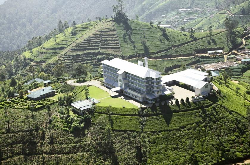 Heritance Tea Factory, Nuwara Eliya, vue aérienne