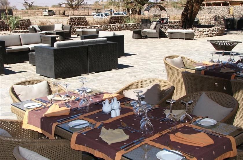 Cumbres Hotel & Spa, Atacama, Chili, terrasse extérieure