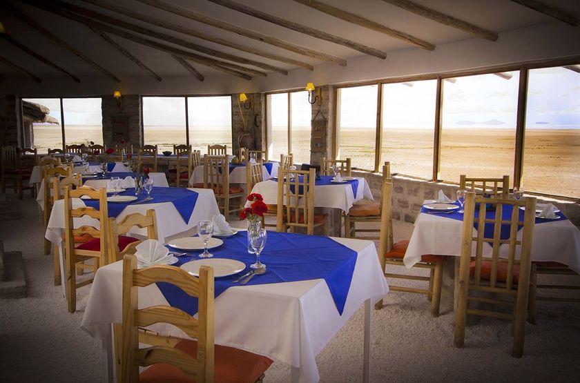 Luna Salada, Uyuni, Bolivie, restaurant