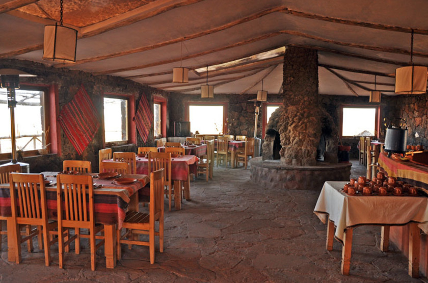 Tayka De Piedra, Salar d'Uyuni, Bolivie, restaurant