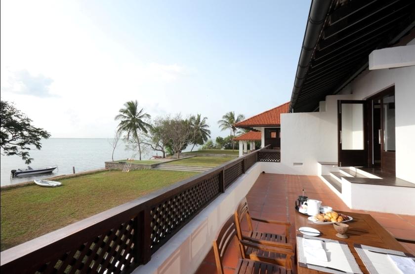 Jetwing Lagoon Negombo, Sri Lanka, terrasse