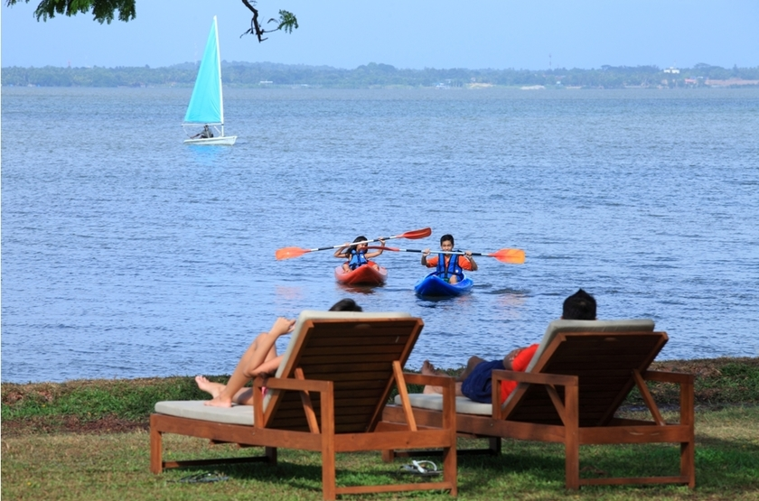 Jetwing Lagoon Negombo, Sri Lanka, sport nautique