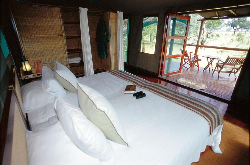 Makalolo Camp, Park Hwange, Zimbabwe, chambre