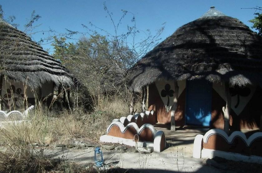 Planet Baobab, Makgadikgadi, Botswana, chalets